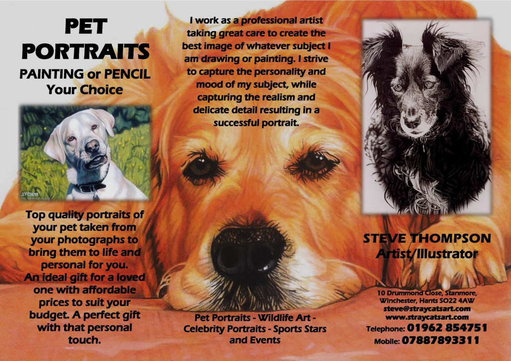 pet portrait flyer 1